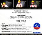 Pracowników do Dociepleń - wys. wynagrodzenie od zaraz